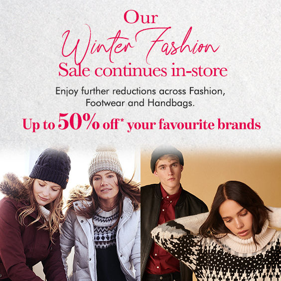 Winter Fashion Sale Continues